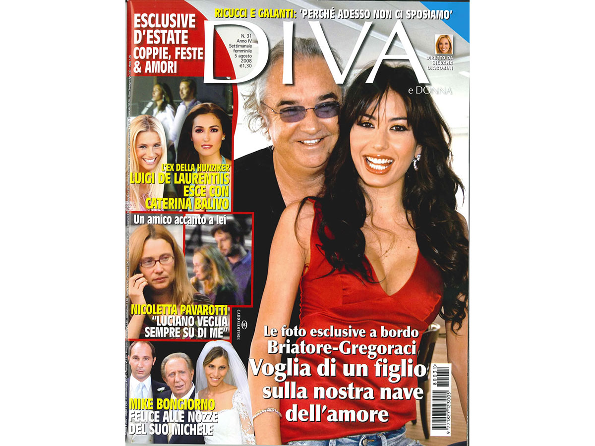 Editorial: graphic design for Diva e Donna weekly magazine