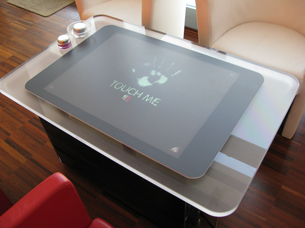 multitouch experience con Microsoft Surface