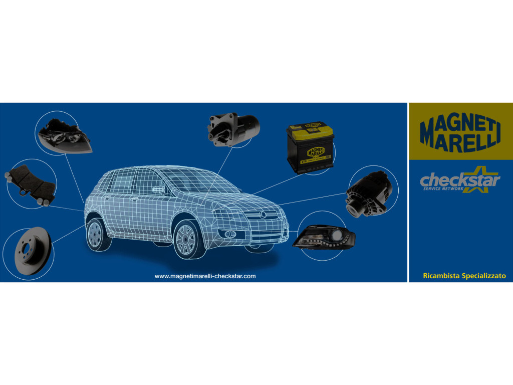 Magneti Marelli – Electroluminescence for point of sales