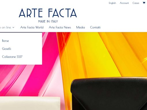 Ecommerce Arte-Facta Made in Italy