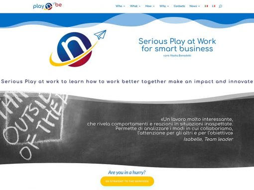 Play 'n Be – web design