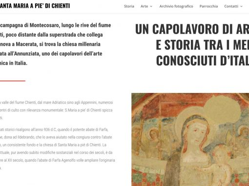 Santa Maria Pie' di Chienti – web design